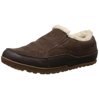 Patagonia Womens Activist Fleece Moccasins Leather Faux Fur