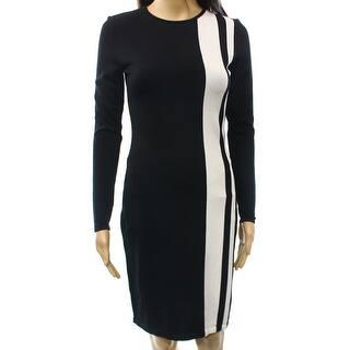 Lauren Ralph Lauren NEW Black Women's Medium M Contrast Sweater Dress|https://ak1.ostkcdn.com/images/products/is/images/direct/15ada395b44ae5a383734833f875b0efad2be7c0/Lauren-Ralph-Lauren-NEW-Black-Women%27s-Medium-M-Contrast-Sweater-Dress.jpg?impolicy=medium