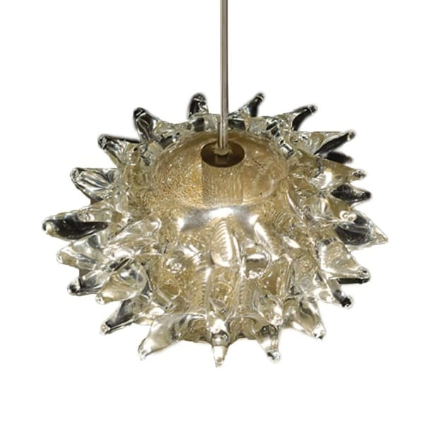 Wac Lighting Qp924 Gl Fugu Quick Connect Pendant With Gold Shade
