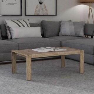 """vidaXL Coffee Table Solid Brushed Acacia Wood 43.3""""x23.6""""x15.7"""""""