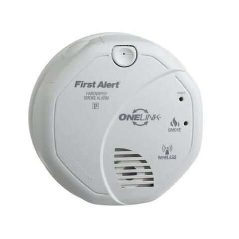 First Alert SA521CN-3ST Smoke Alarm Battery Operated 120 Volt