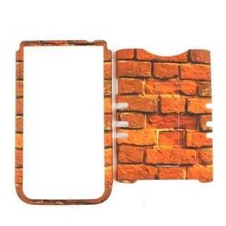 Unlimited Cellular Rocker Snap-On Case for Samsung Galaxy Note 2 (Red Bricks)