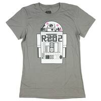 Star Wars R2-D2 Love Juniors T-shirt