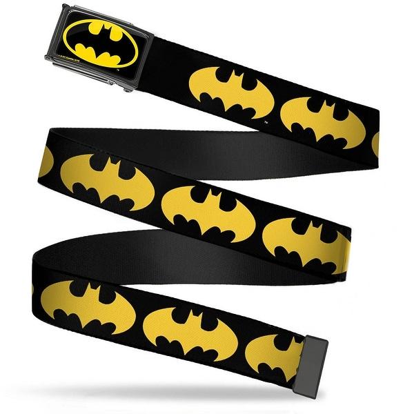 Batman Fcg Black Yellow Black Frame Bat Signal 1 Black Yellow Webbing Web Belt