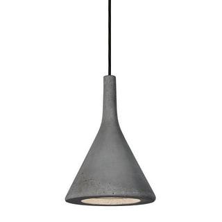 Besa Lighting 1JT-GALATN-LED Gala Single Light LED Mini Pendant with Tan Concrete Shade