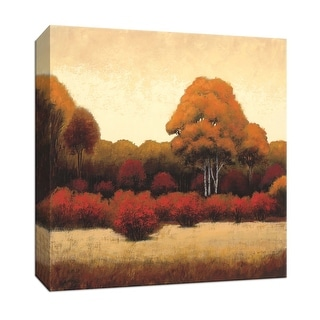 "PTM Images 9-152010  PTM Canvas Collection 12"" x 12"" - ""Autumn Forest I"" Giclee Forests Art Print on Canvas"