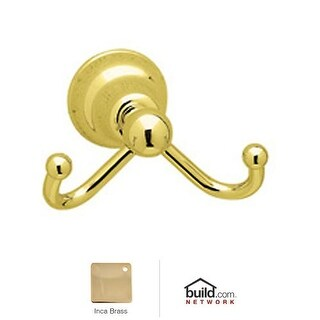 Rohl CIS7D Cisal Double Hook Robe Hook