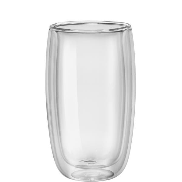 51c7ea2db5 Shop ZWILLING Sorrento 2-pc Double-Wall Glass Latte Cup Set - Clear ...