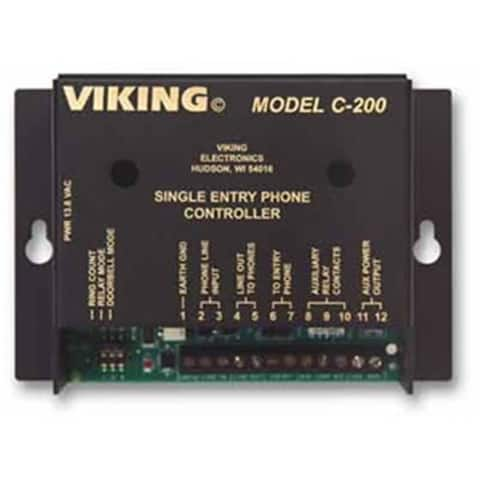 Viking C-200 Door Entry Control for 4 Entry Phones