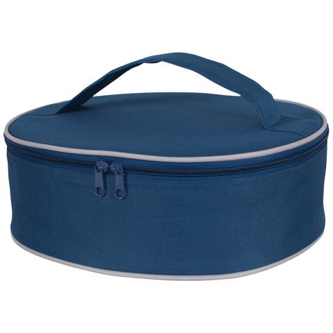 Harold Import 02984NV Insulated Pie Carrier, Navy