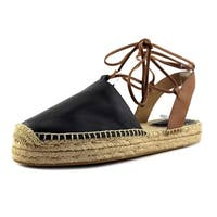Coach Womens Rita Leather Closed Toe Casual Espadrille Sandals