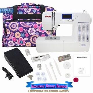 Janome 8050 Computerized Sewing Machine w/ Bonus Bundle