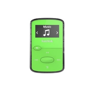 Sandisk 8Gb Clip Jam Mp3 Player (Green)