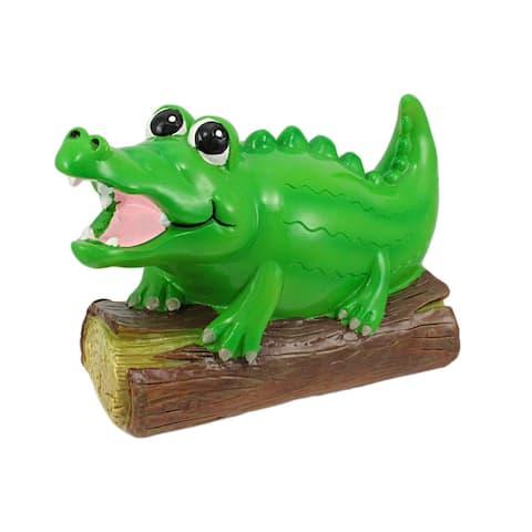 Adorable Alligator Coin Bank Piggy Gator