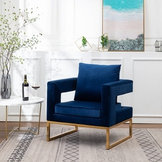 Link to Lenola Contemporary Upholstered Accent Arm Chair Similar Items in Club Chairs