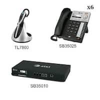 SB35010 + (6) SB35025 + (1) TL7800 Syn 248 SB35010 W 6 Multi-Line Desksets