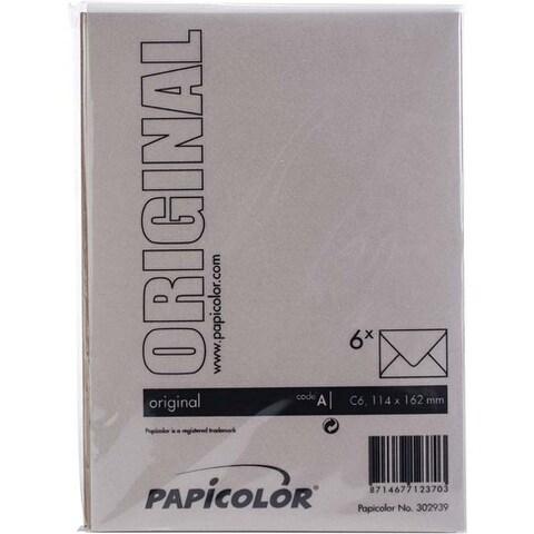 Nut Brown - Papicolor A6 Envelopes 6/Pkg