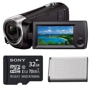 Sony HD Video Recording HDRCX405 Handycam Camcorder Bundle - Black