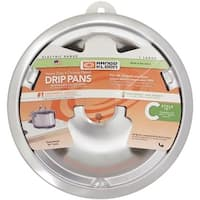 "Range Kleen 8"" Chrm C Style Drip Pan"