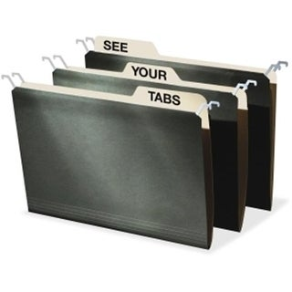 IdeaStream Consumer Products IDEFT07043 Tab View Hanging File Folders