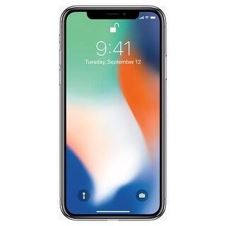 Apple iPhone X 256GB Unlocked GSM/CDMA Phone w/ Dual 12MP Camera - Silver