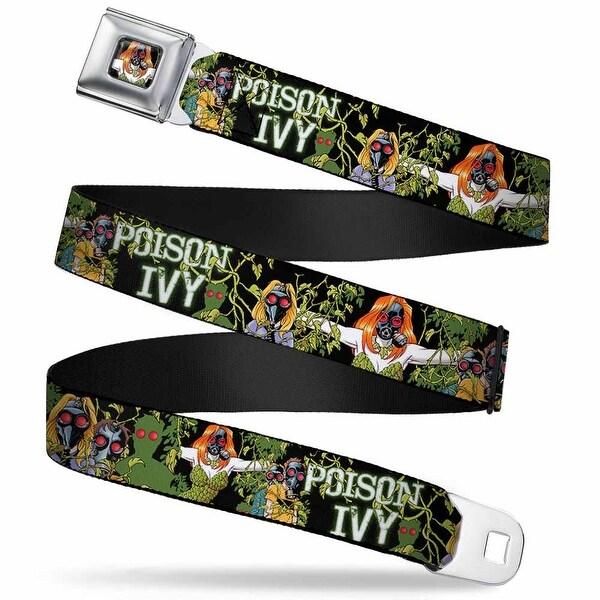 Gas Masked Poison Ivy Full Color Detective Comics Cover #752 Gas Masked Seatbelt Belt