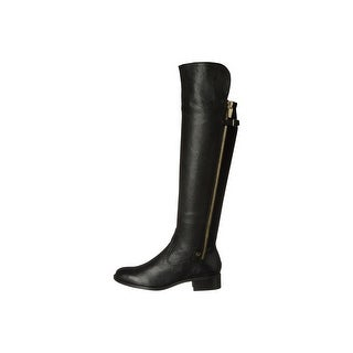 Calvin Klein Womens Glady Wide Calf Over Knee Fashion Boots