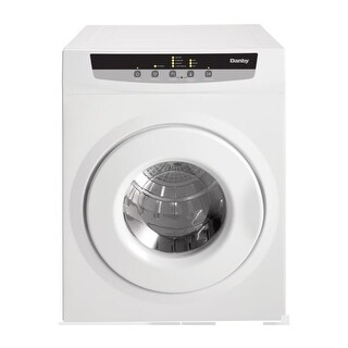 Danby DDY060DB 24 Inch Wide 13.2 Cu. Ft. Capacity Electric Dryer