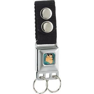 Fred Face Full Color Turquoise Keychain