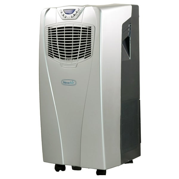 NewAir AC 10000E Ultimate Comfort 10,000 BTU Portable Air Conditioner    Silver U0026amp; ...