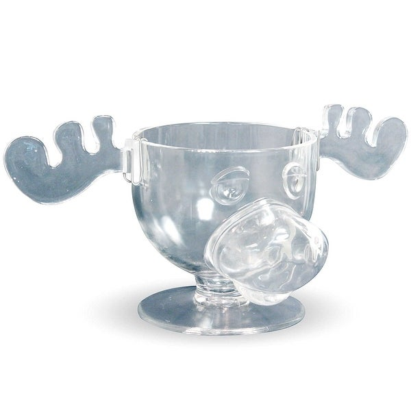 national lampoons christmas vacation glass moose punch bowl multi - National Lampoons Christmas Vacation Merchandise