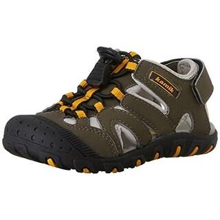 Kamik Boys Oyster Youth Sport Fisherman Sandals - 13 medium (d)