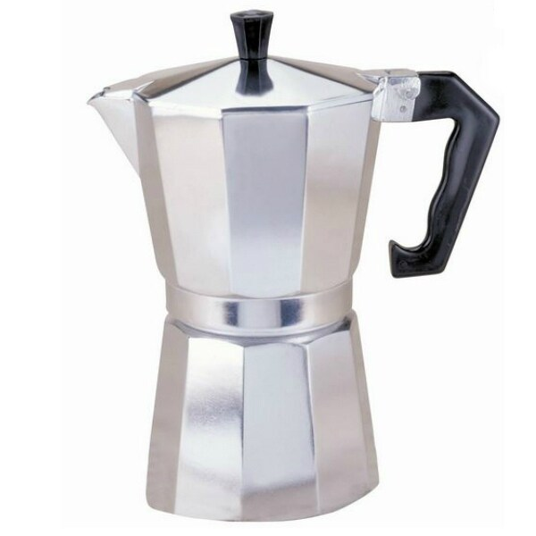 Primula PES-3309 Aluminum Stovetop Espresso Coffee Maker, 9 Cup