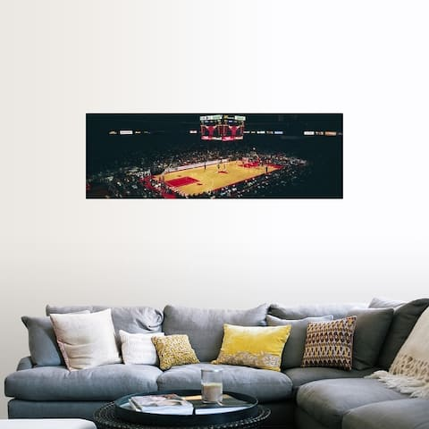 """""""Elevated view of basketball stadium, United Center, Chicago, Cook county, Ill"""" Poster Print"""