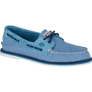 Sperry Top-Sider Men's Authentic Original Boat Shoe Blue Leather/Textile