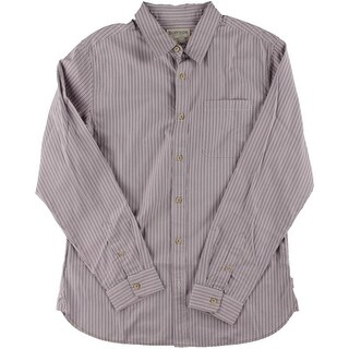 Surfside Supply Mens Pinstripe Long Sleeves Button-Down Shirt
