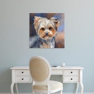 Easy Art Prints Edie Fagan's 'Sadie Belle Yorkshire Terrier' Premium Canvas Art