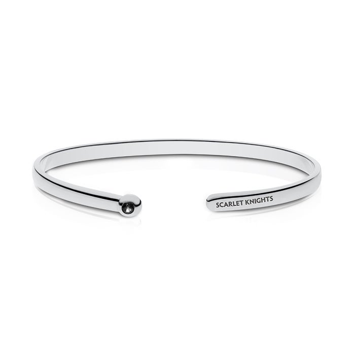 Jewel Tie 925 Sterling Silver University of Houston Cuff Link