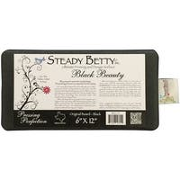 "Steady Betty Pressing Surface-6""X12"" Black"