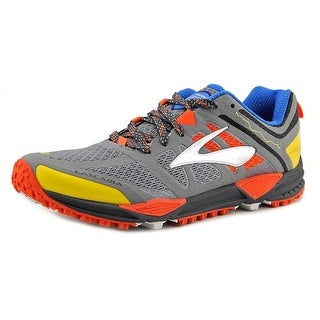 Brooks Cascadia 2189 Men  Round Toe Synthetic Gray Running Shoe
