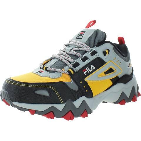 Fila Boys Oakmont TR Athletic Shoes Gym Exercise - Citrus/High Rise/Black