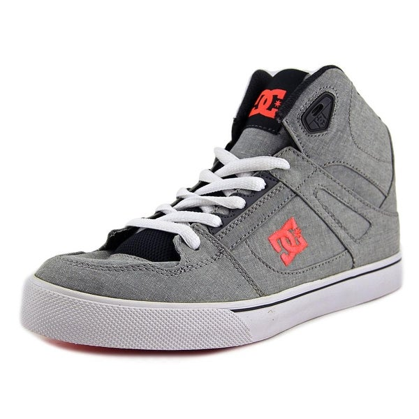 DC Shoes Spartan High Men Grey Heather Sneakers Shoes
