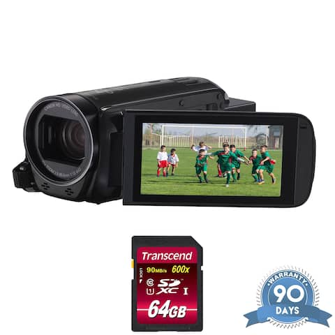 Canon VIXIA HF R82 Camcorder - with Memory Card -