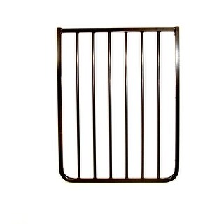 "Cardinal Gates Extension For AutoLock Gate And Stairway Special Black 21.75"" x 1.5"" x 29.5"""