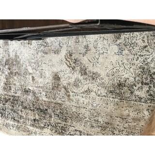 Safavieh Vintage Oriental Warm Beige Distressed Silky Viscose Rug (5'3 x 7'6)