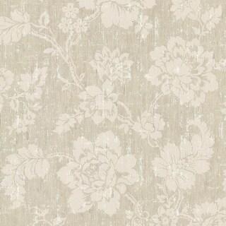 """Brewster 672-20052-SAM  8""""x 10"""" Sample of 672-20052 - Beige Floral"""