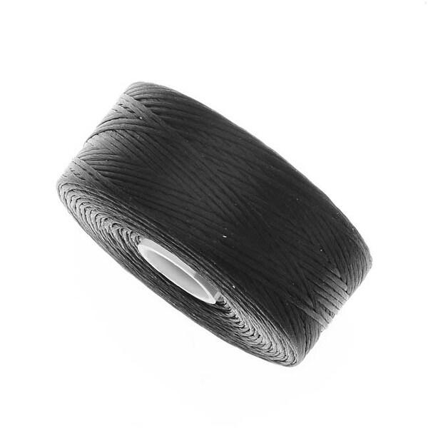 BeadSmith Super-Lon (S-Lon) Thread - Size AA - Black (1 Bobbin)