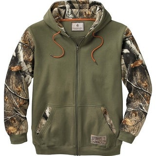 Legendary Whitetails Mens Mountain Peak Full Zip Hoodie