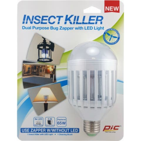 PIC IKC Insect Killer Dual Purpose Bug Zapper with LED Light