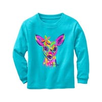 Legendary Whitetails Toddler Girls Radiant Fawn Long Sleeve T-Shirt - Glacier